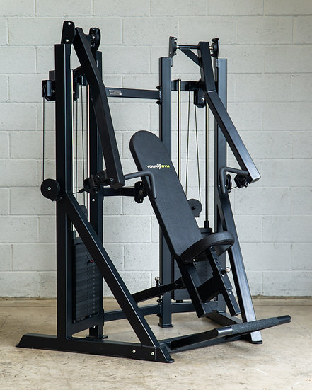 Dual Stack Animal Chest Press