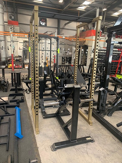 Power rack finition gold