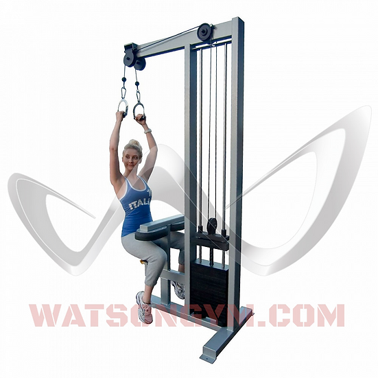 Single Stack Dual Cable Lat Pulldown