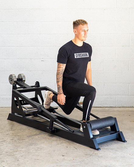 Plate Loaded Lunge Machine