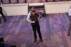 Violinist, Busker Trio - Shipwrecked