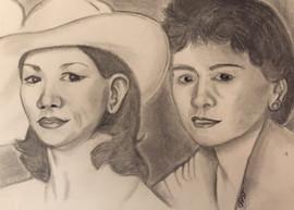 Legacy Portrait - Charcoal on Paper