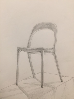 Chair Study - Graphite on Paper