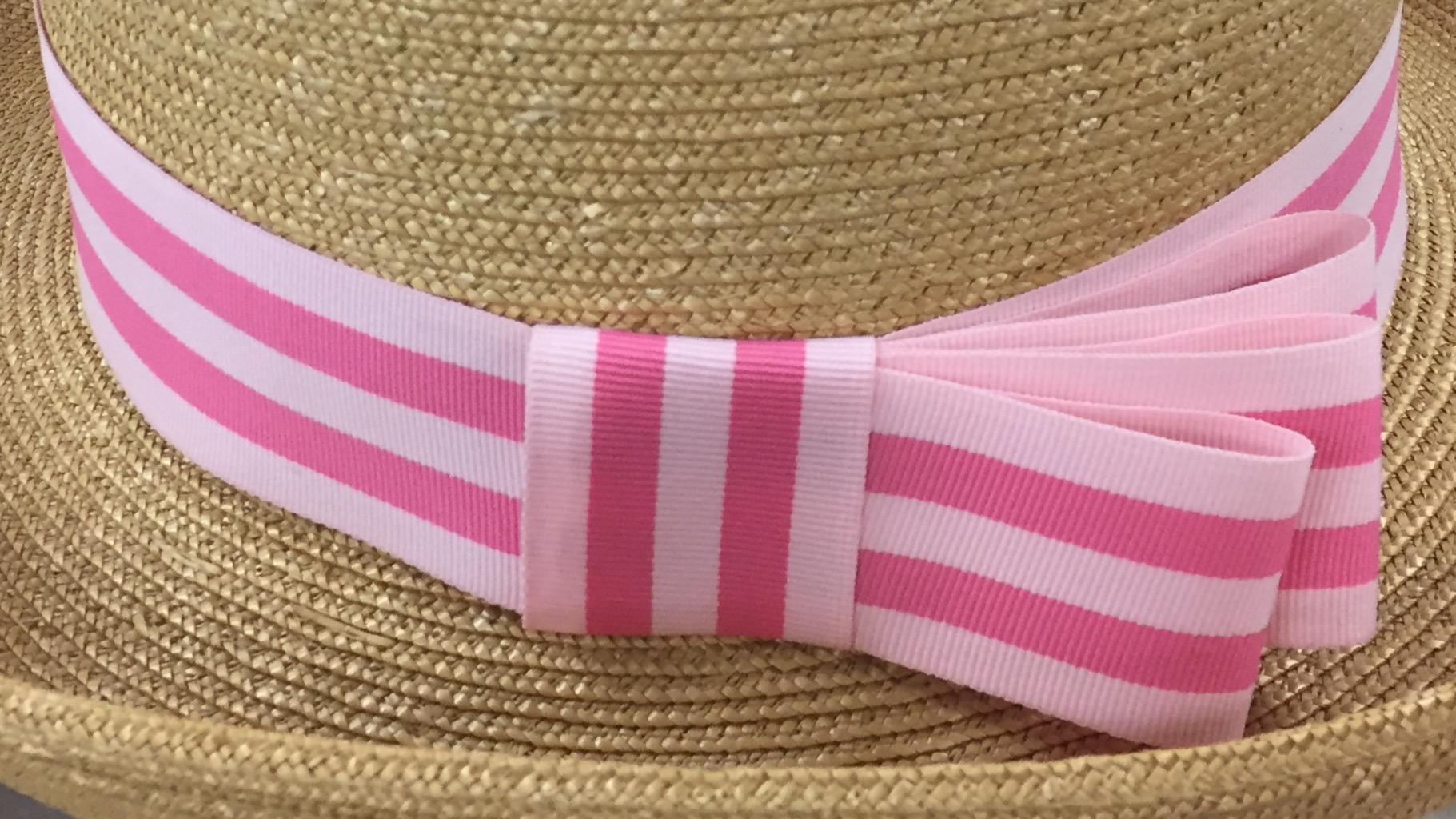 Hatband Option 2 - Asymmetrical Bow