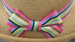 Hatband Option 3 - Split Double Bow