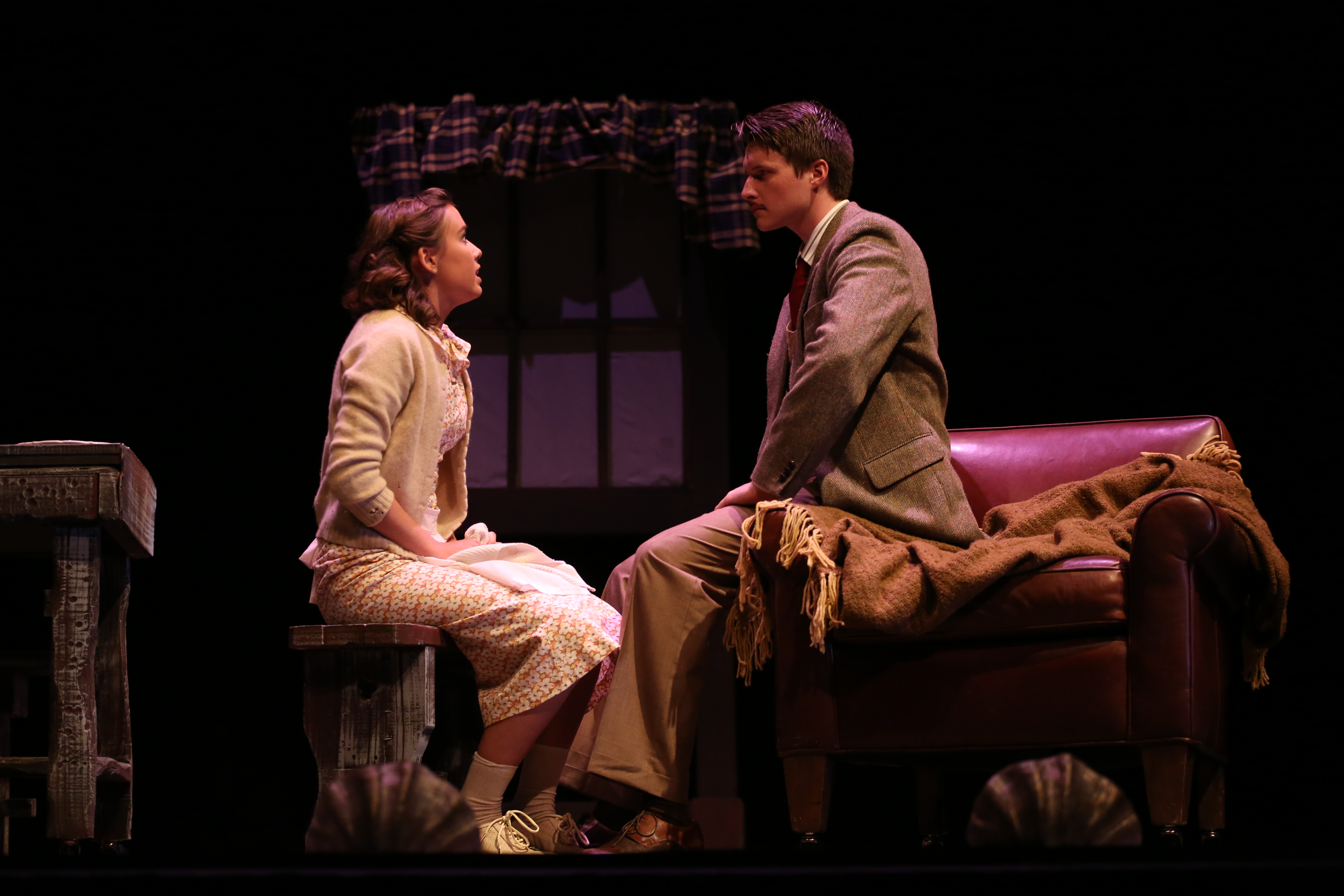 Margaret & Hannay - The 39 Steps