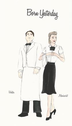 Waiter & Manicurist
