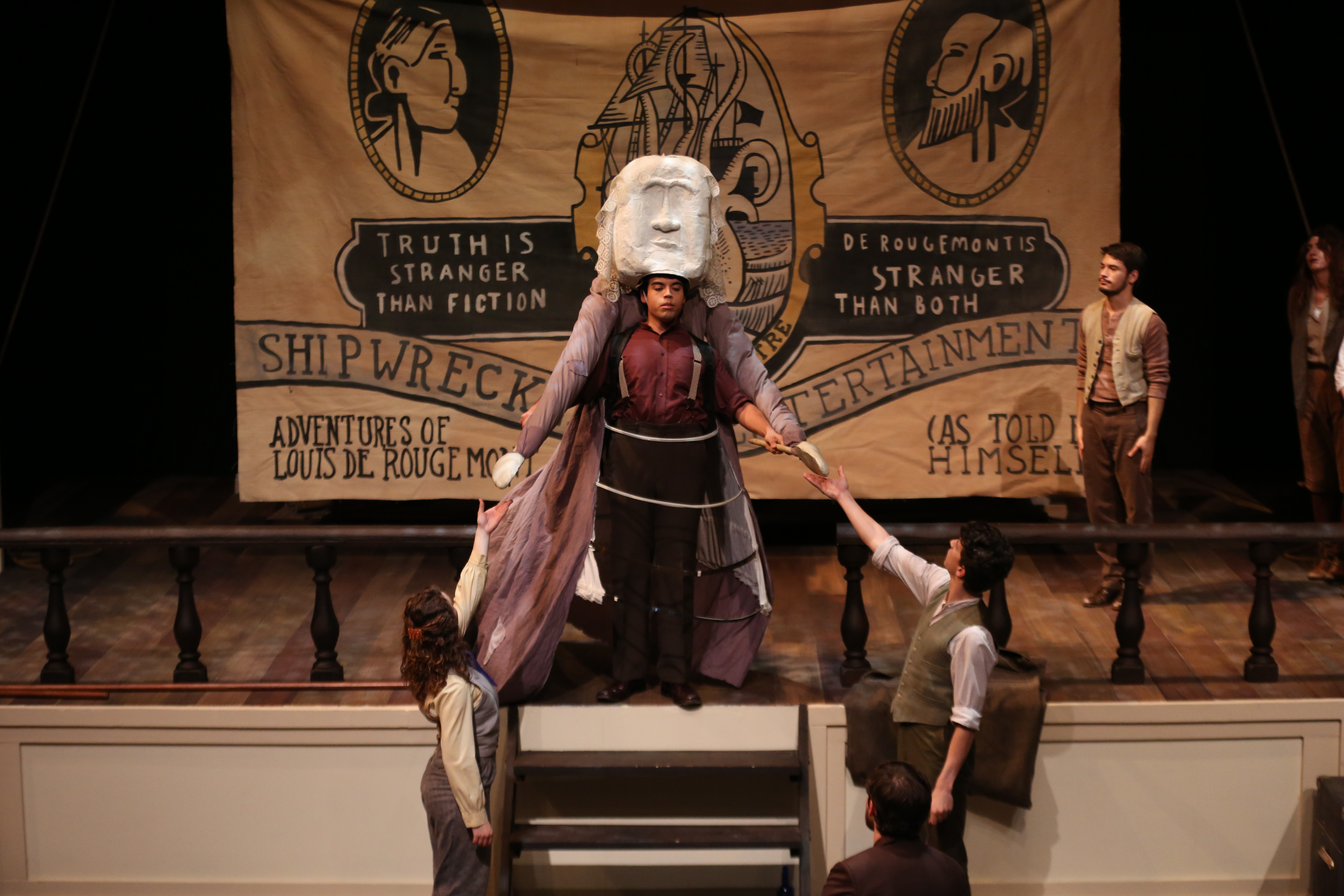 Queen Victoria Puppet - Shipwrecked