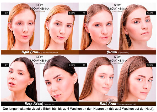 Brow Henna bei Katja's Beauty Luzern