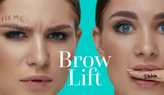 BrowLift bei Katja's beauty Luzern