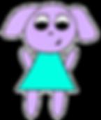 Oofie the purple dog