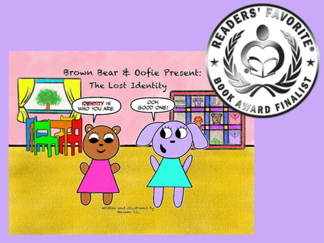Book Award Press Release for Brown Bear & Oofie