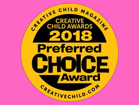 2018 Preferred Choice Award