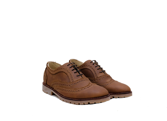 Zapato Oxford Brandy