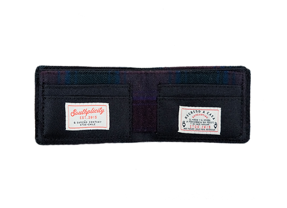 Billetera Lana Escocesa