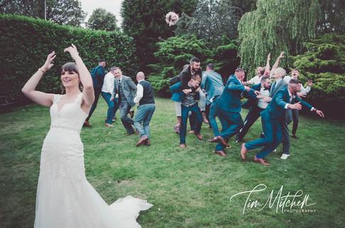 Bride and Grooms Men