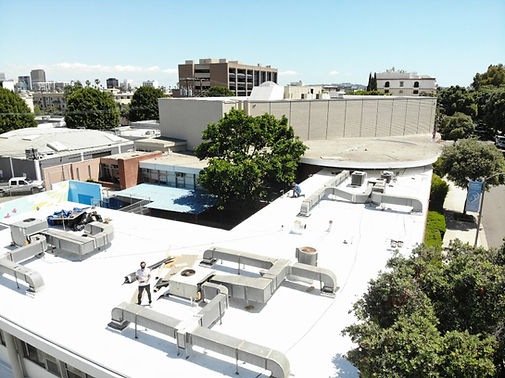 Beverly Hills Temple Roofing Project