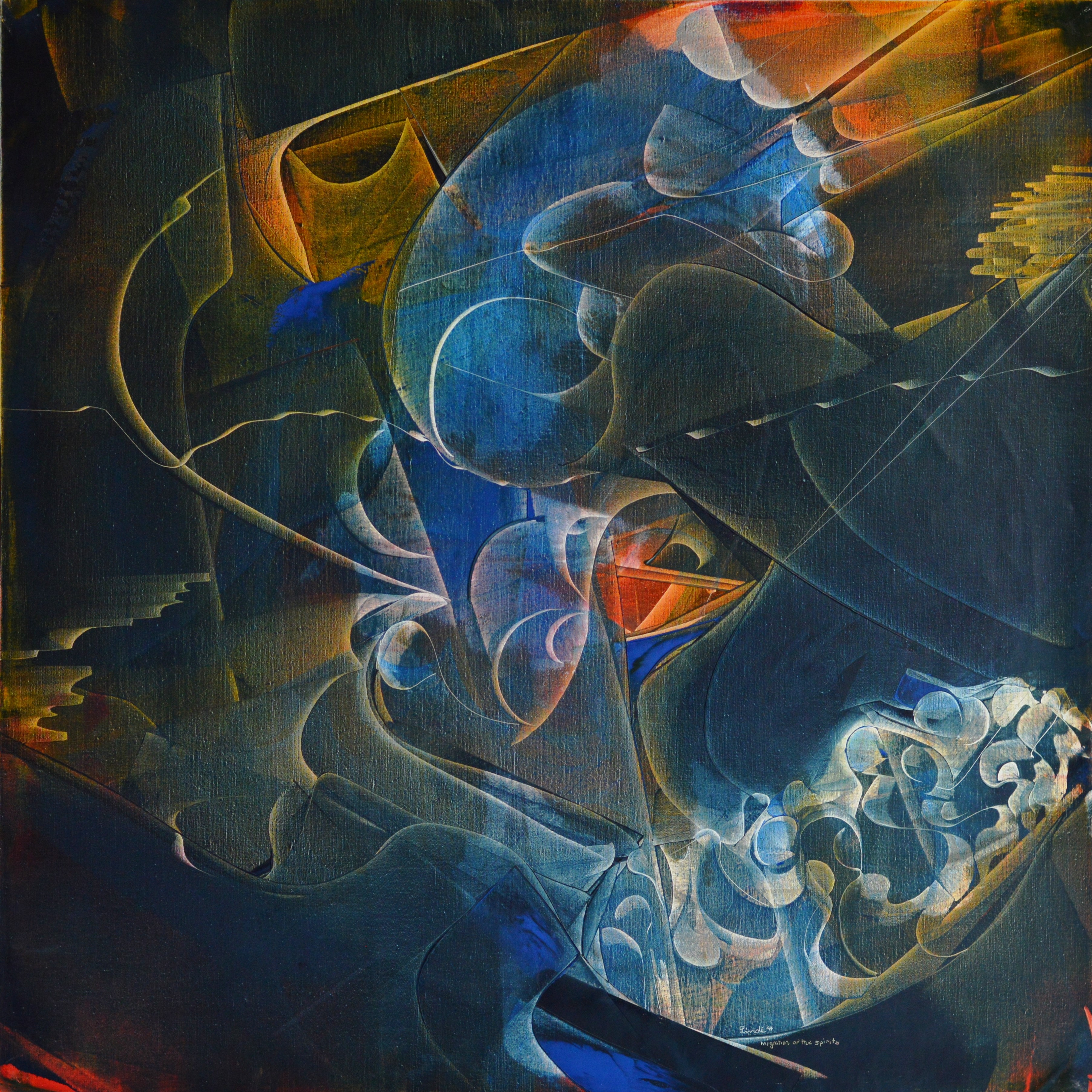 Migration of the spirits 1994,LM-110