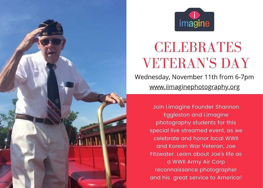 Red American Flag Appreciation Veteran's