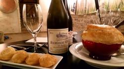 Vins de Vézelay et boeuf bourguignon