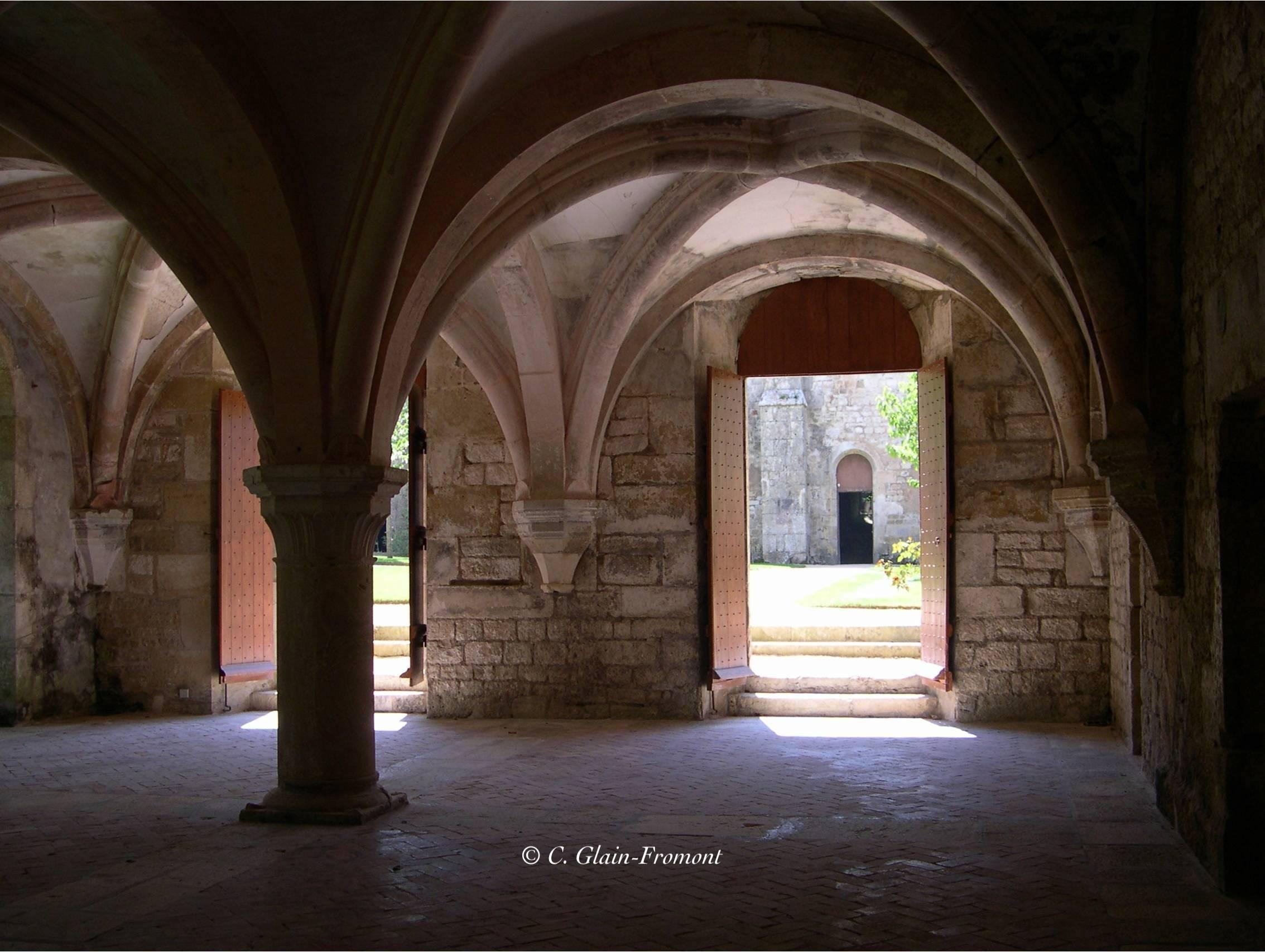 Fontenay le scriptorium