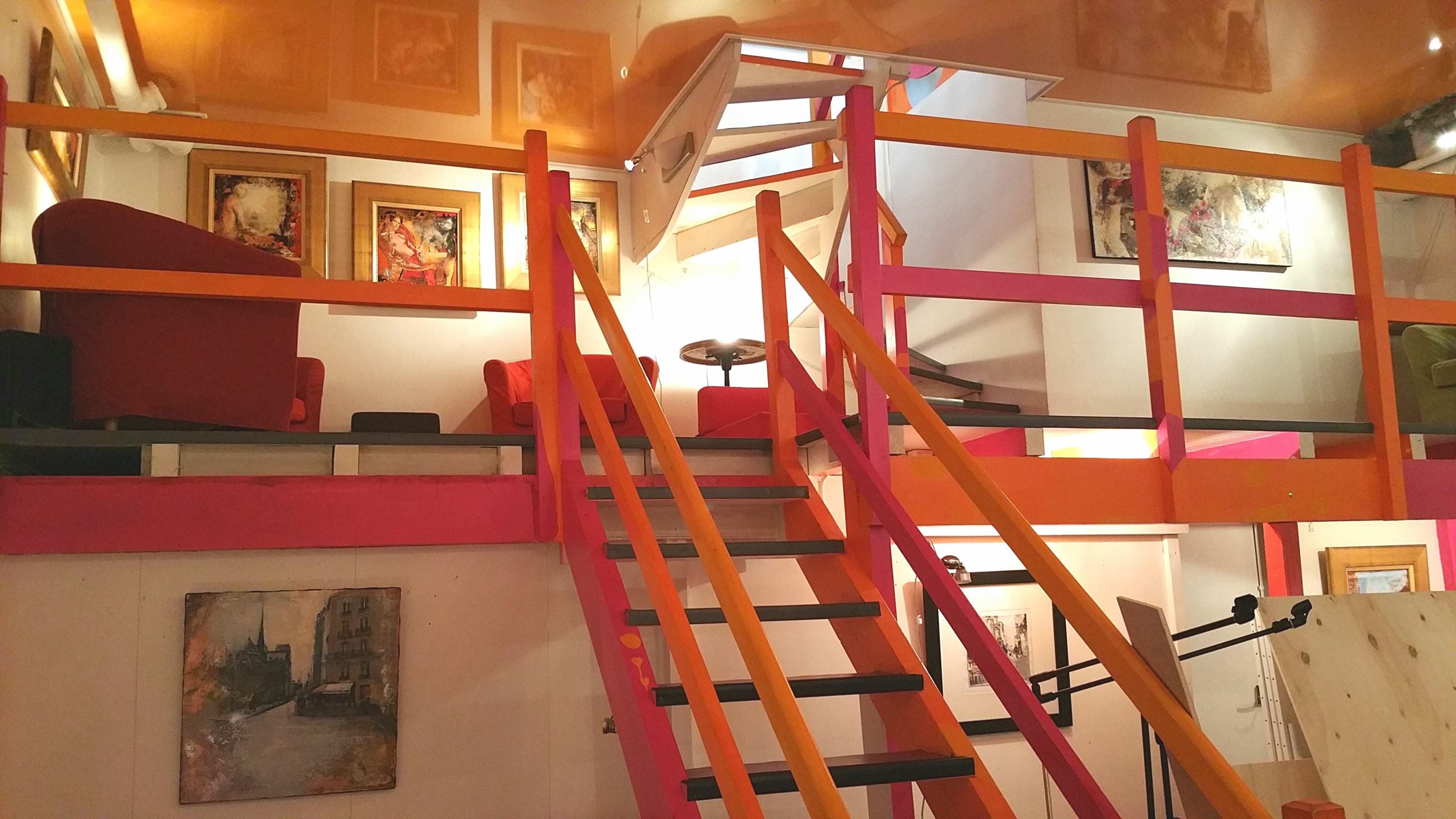 Galerie Antony Deuxième niveau