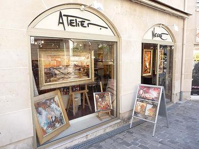 Atelier et galerie peinture Antony