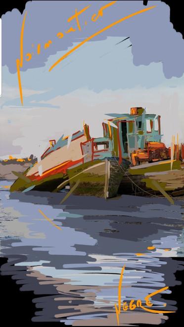 NO cimetières de bateaux