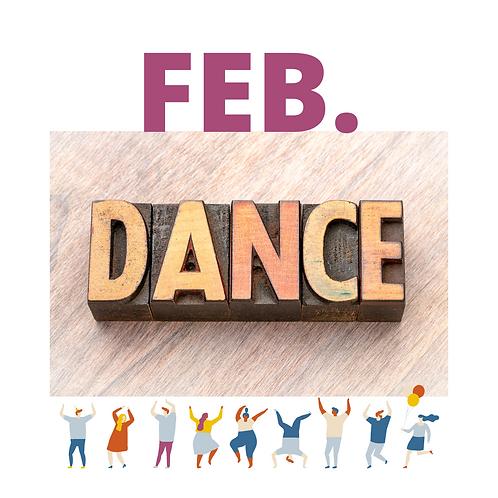 Februar Dance-Wave