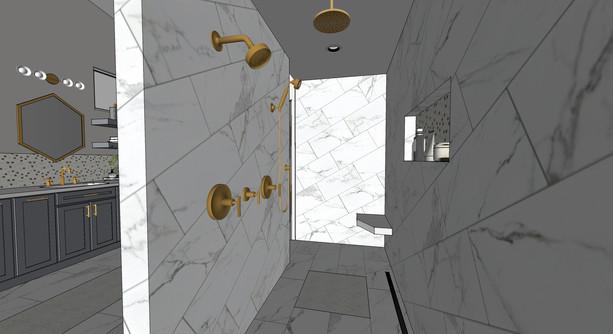 Moderate Level Rendering - Bath