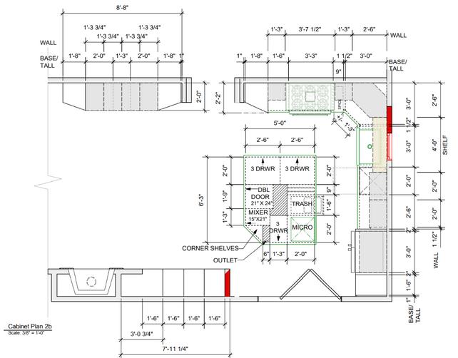 Kitchen Cabinet Plan