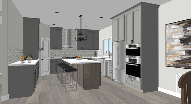Kitchen (moderate level rendering)
