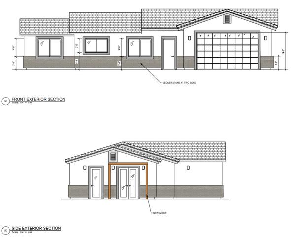 New Casita Build - Exterior Elevations