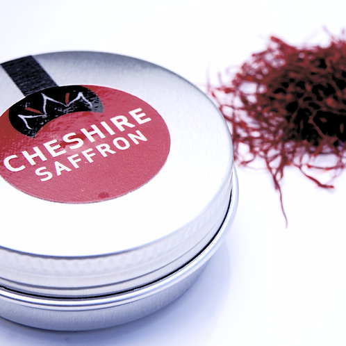 1g tin of Cheshire saffron