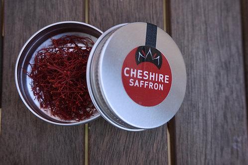 0.5g tin of Cheshire saffron