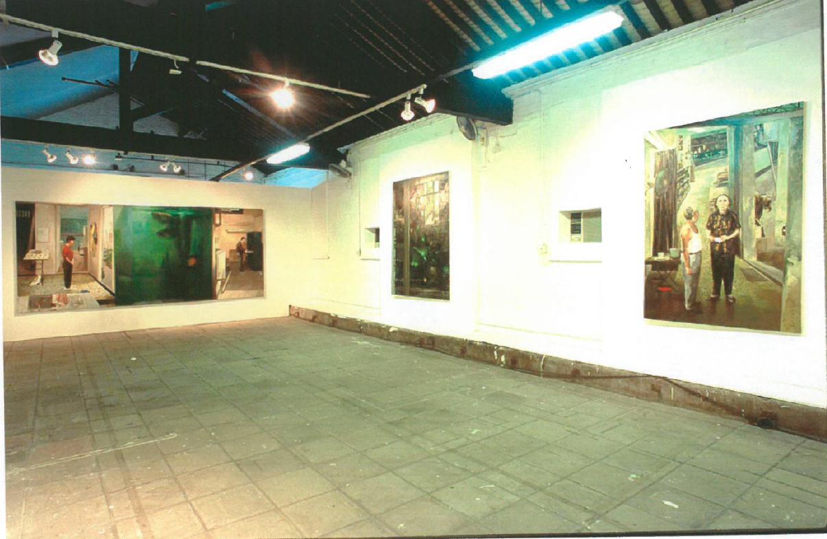 《牆角落—兩個畫家,兩種態度》藝術對話展覽
