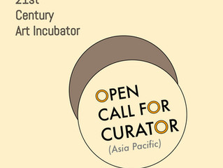 21st Century Art Incubator-                 Open Call For Curator                   Selected Project