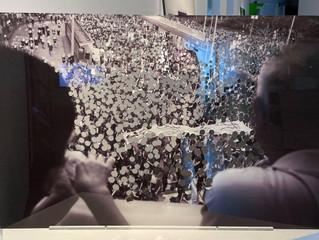 蕭偉恒 《不合理的行為》被斬頭的展覽