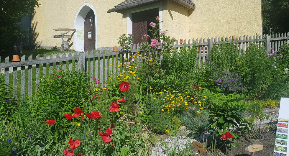 Jesuitengarten im Schloss Großsölk