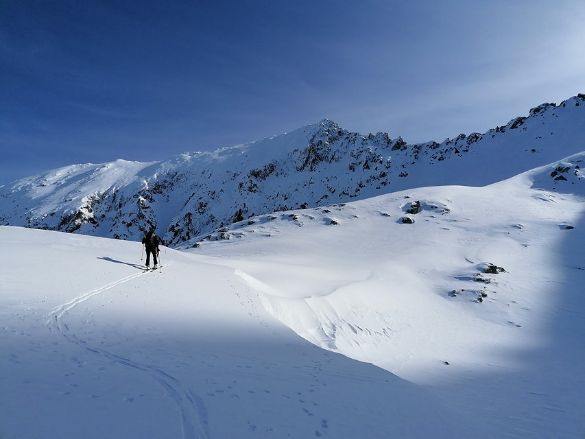 Skitour auf das Deneck im Naturpark Sölktäler