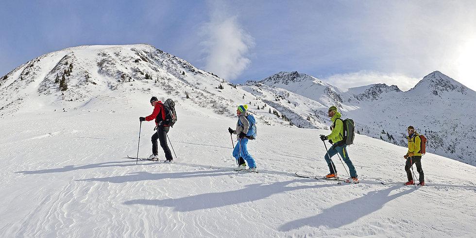 Skitour zur Kammkarlspitze im Naturpark Sölktäler
