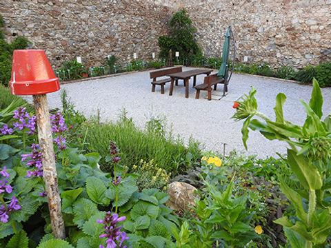 Gartenstammtisch im Naturparkhaus Schloss Großsölk