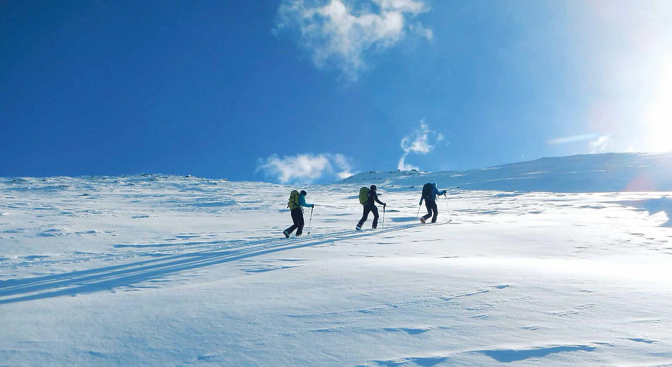 Skitour Karlspitz im Naturpark Sölktäler