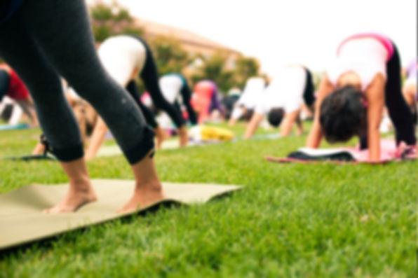 Ladies night yoga