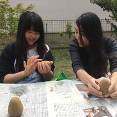 クレイモデリング clay modeling