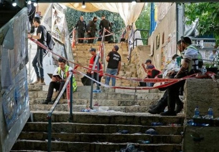 இஸ்ரேல் மத திருவிழா நெரிசலில் சிக்கி 45 பேர் பலி.