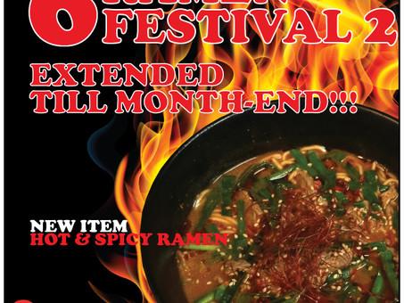 RAMEN FESTIVAL 2 EXTENDED!