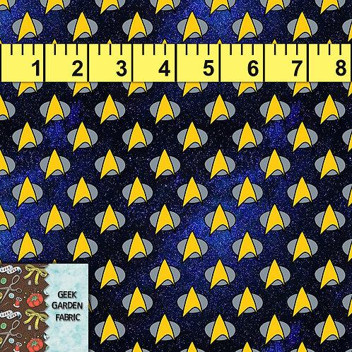 Galaxy Trek Micro scale Fabric RETAIL Cotton Lycra Woven Vinyl