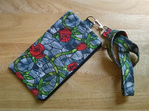 Harper Lanyard Phone Pouch Digital Pattern