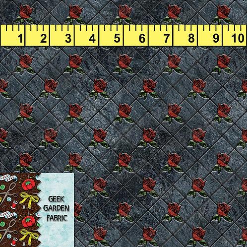 J Diamond cut rose Micro Fabric RETAIL Cotton Lycra French Terry Woven